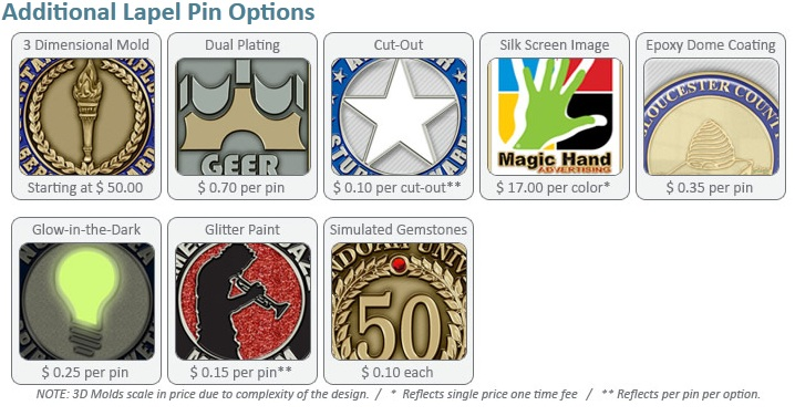 Jazz Up Your Pin Order