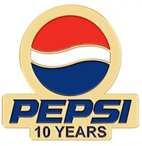 Pepsi Award Pins