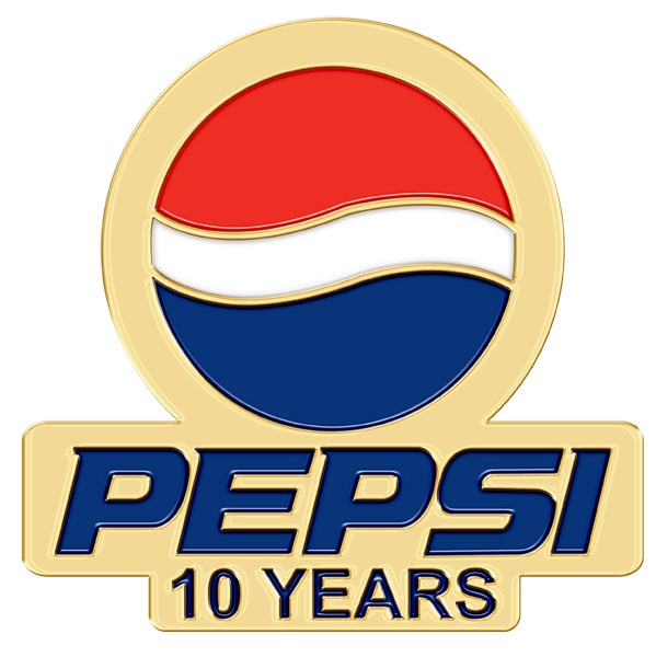 Pepsi Years of Service Lapel Pins